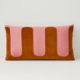 Pochoir Cushion Cover