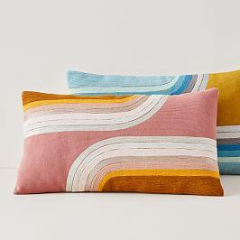 Reflecting Curves Cushion Covers
