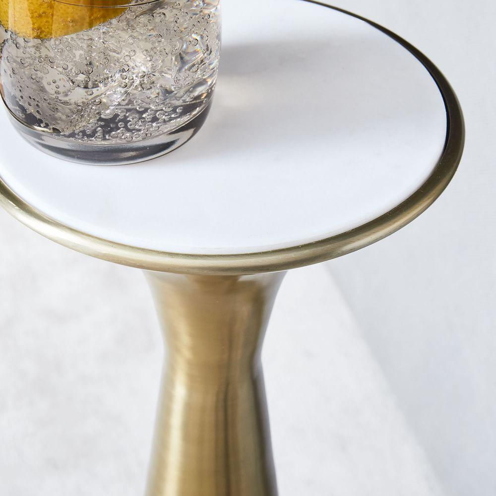 Silhouette Pedestal Drink Table