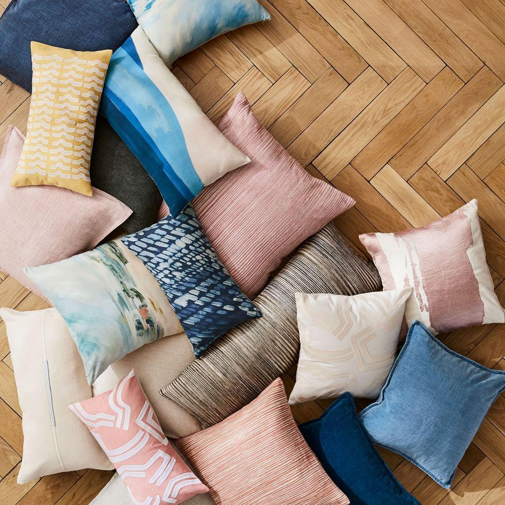 New Cushions + Throws