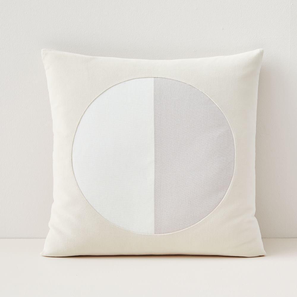 Split Circle Cushion Cover