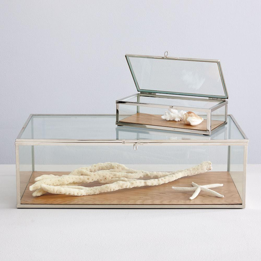 Terrace Shadow Boxes - Wood/Glass