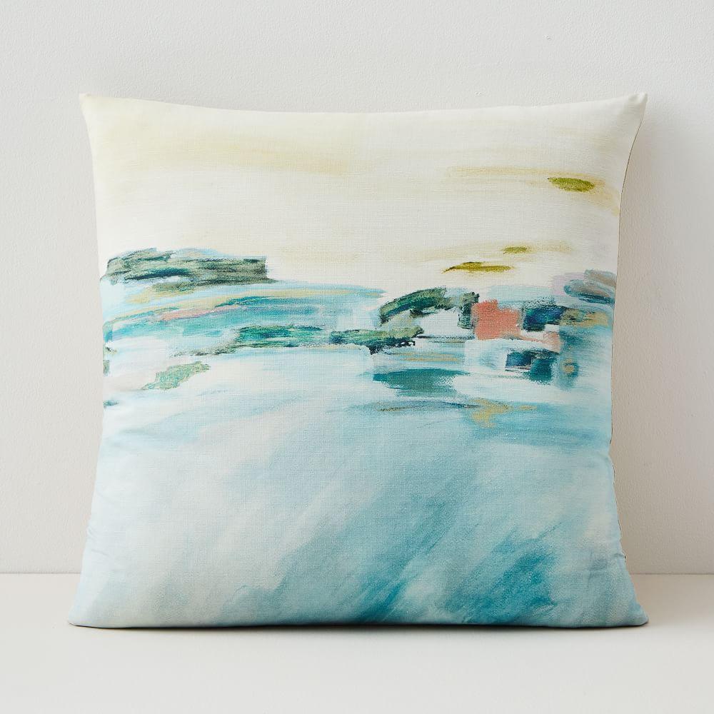 Impressionist Landscape Cushion Covers