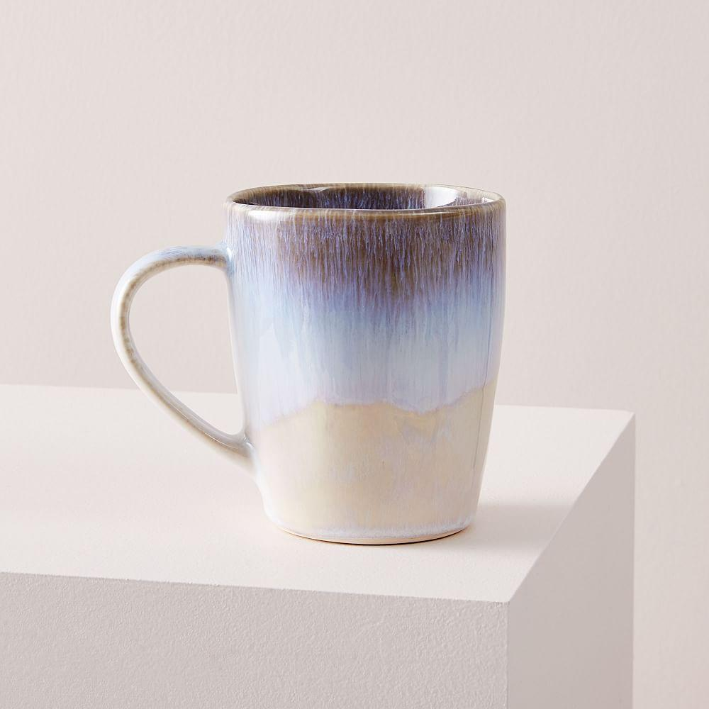 Reactive Glaze Mug - Sky Blue