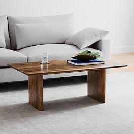 Anton Solid Wood Coffee Table - Rectangle