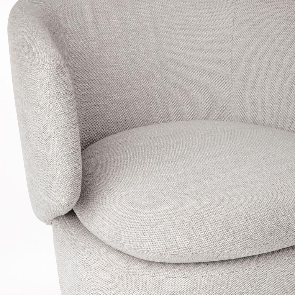 Crescent Swivel Chair