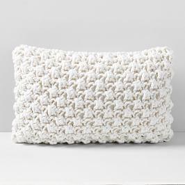 Bobble Knit Lumbar Cushion Cover