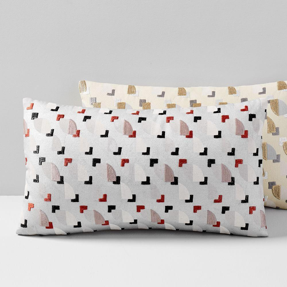Ellipse Tile Lumbar Cushion Cover