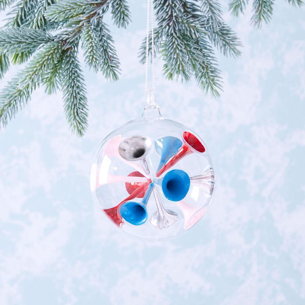 Colour Dot Glass Ornament