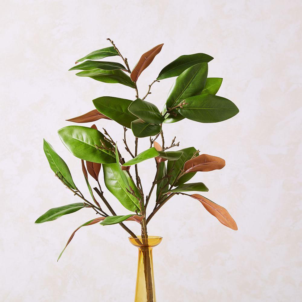 Faux Magnolia Branch