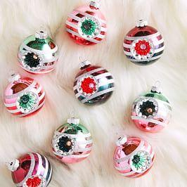 Shiny-Brite™ Ball Ornaments (Set of 9)