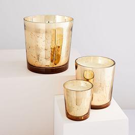 Scented Mercury Candles - Cashmere Tonka