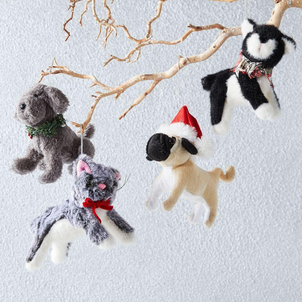 Plush Animal Ornaments