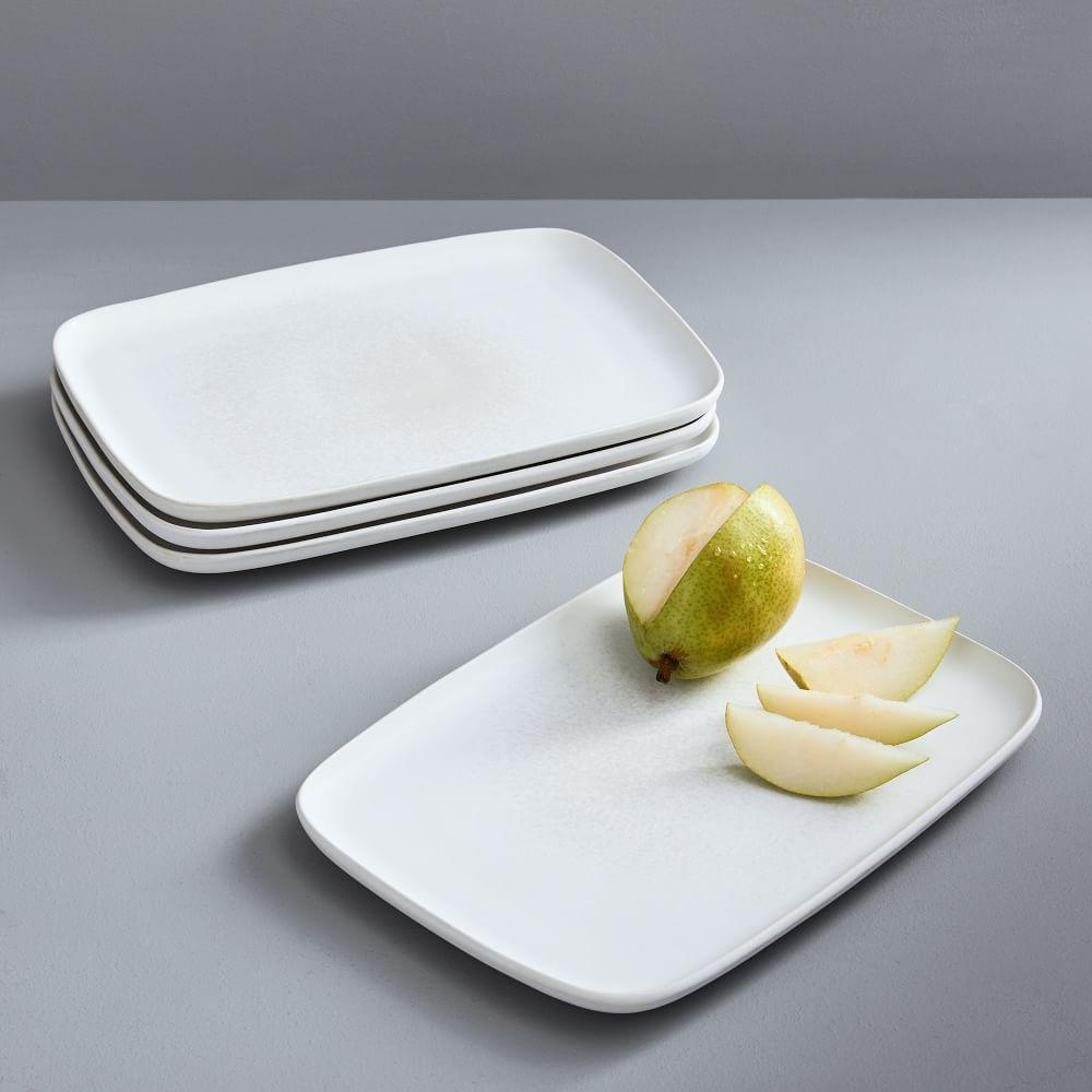 Kanto Platters - Ice White