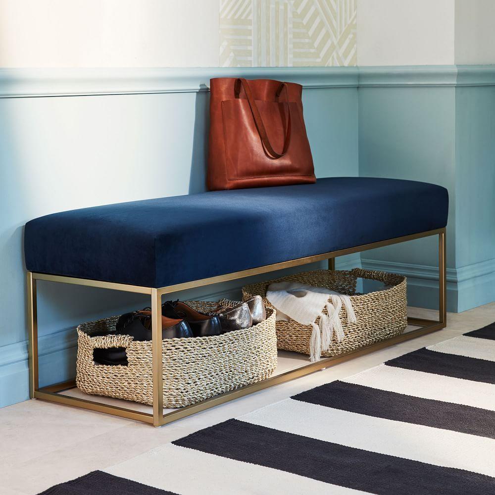 Box Frame Upholstered Bench