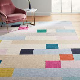 Margo Selby Squares Rug