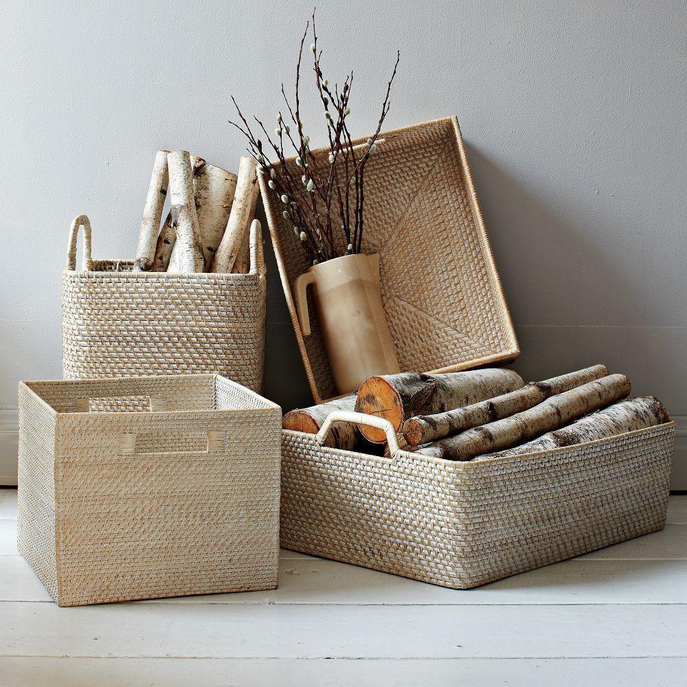 Modern Weave Handled Baskets