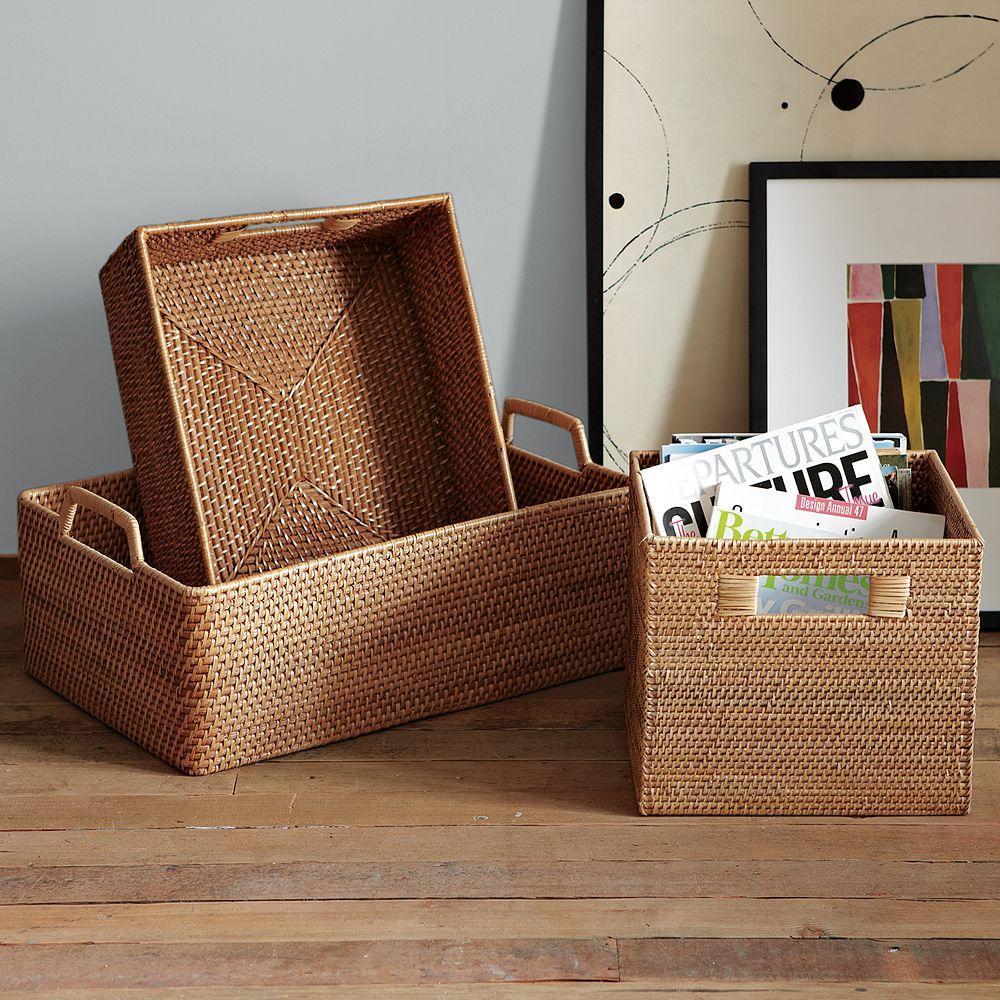 Modern Weave Harvest Baskets