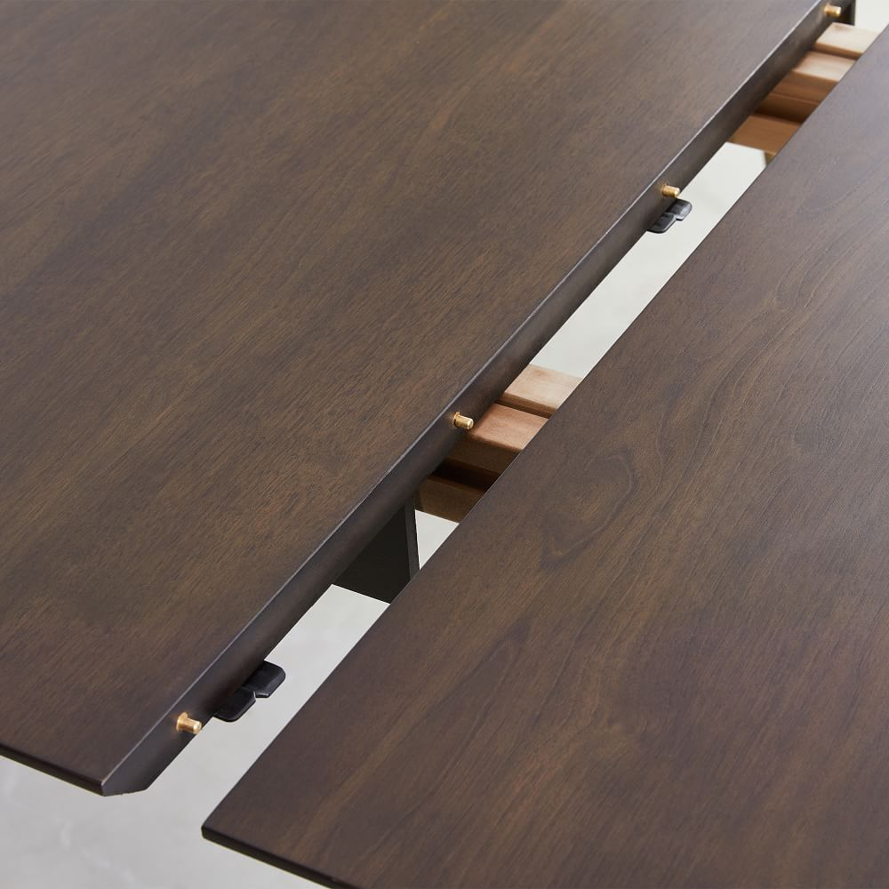 Mid-Century Expandable Dining Table - Walnut
