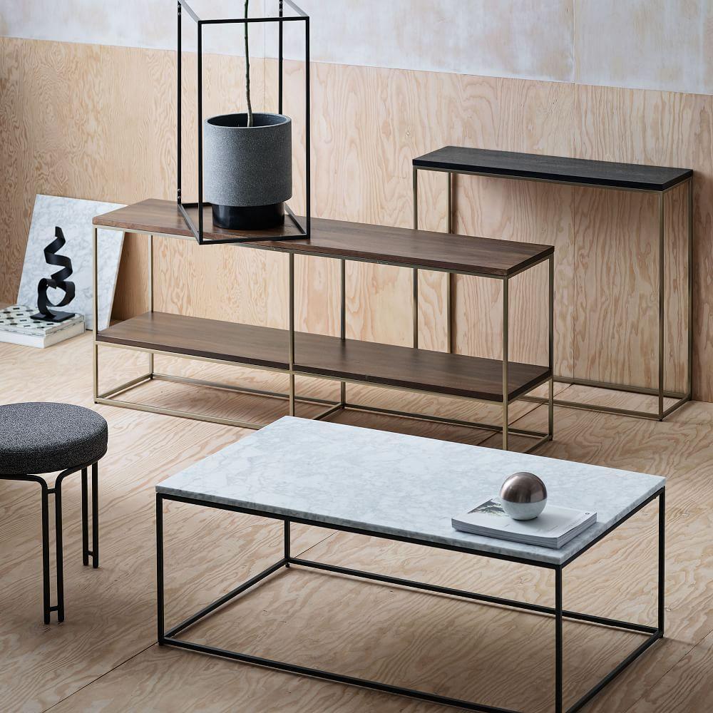 Streamline Coffee Table (112 cm) - Marble