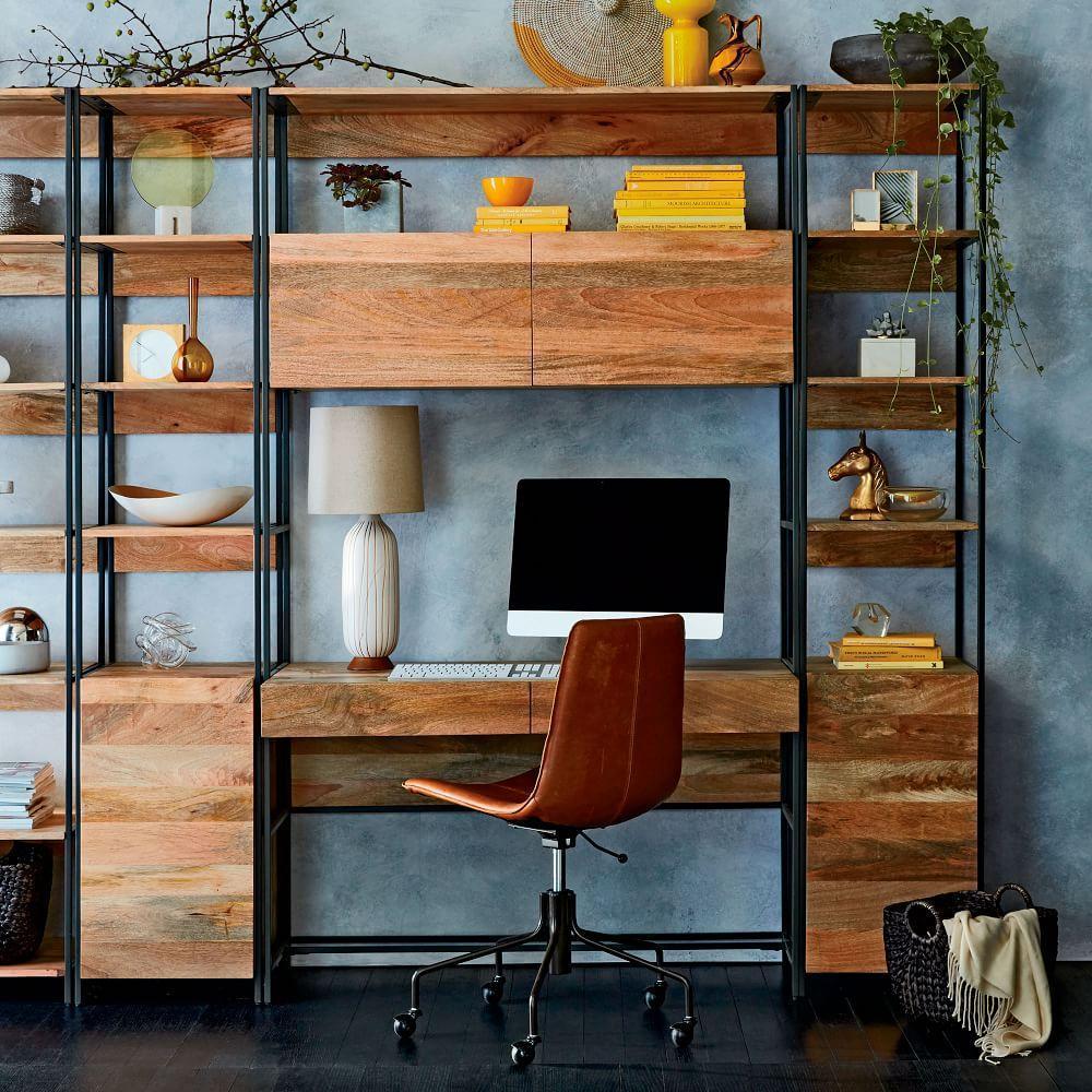 Industrial Modular 124 cm Desk