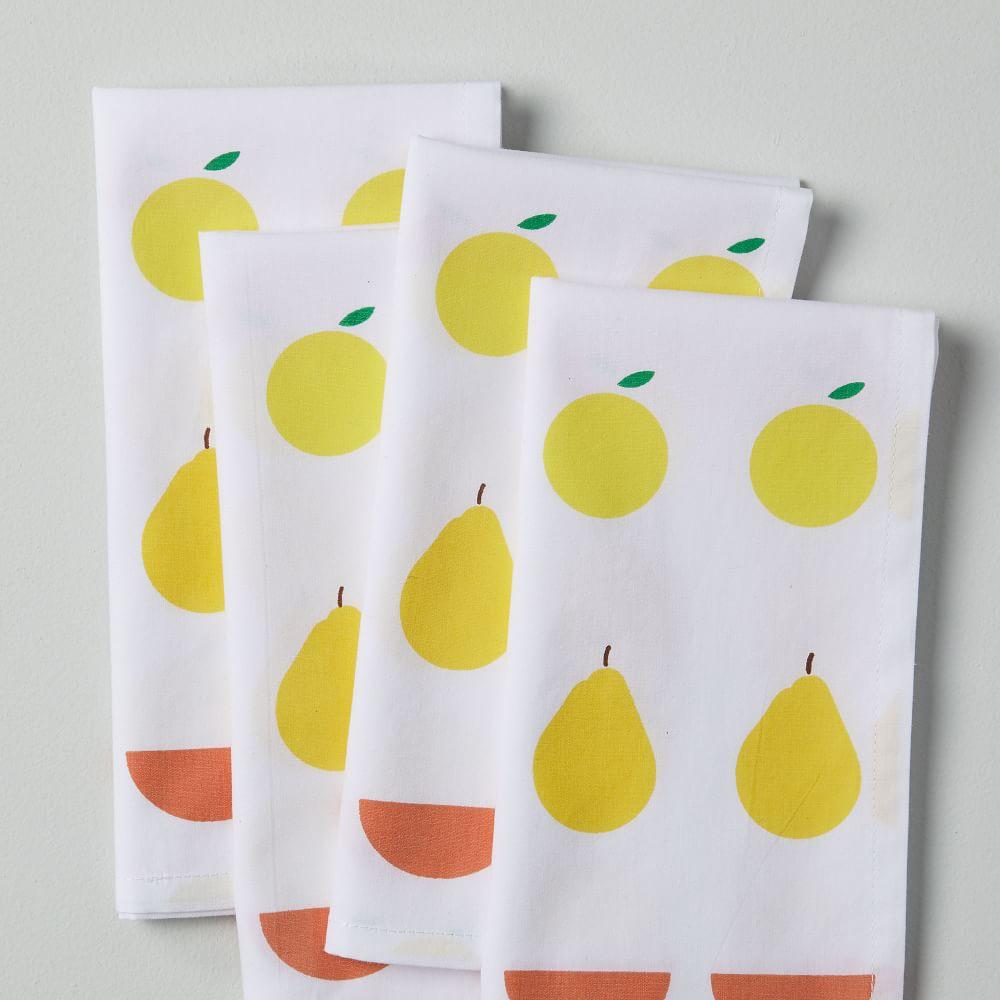 Fruitful Arrangement Napkins (Set of 4)