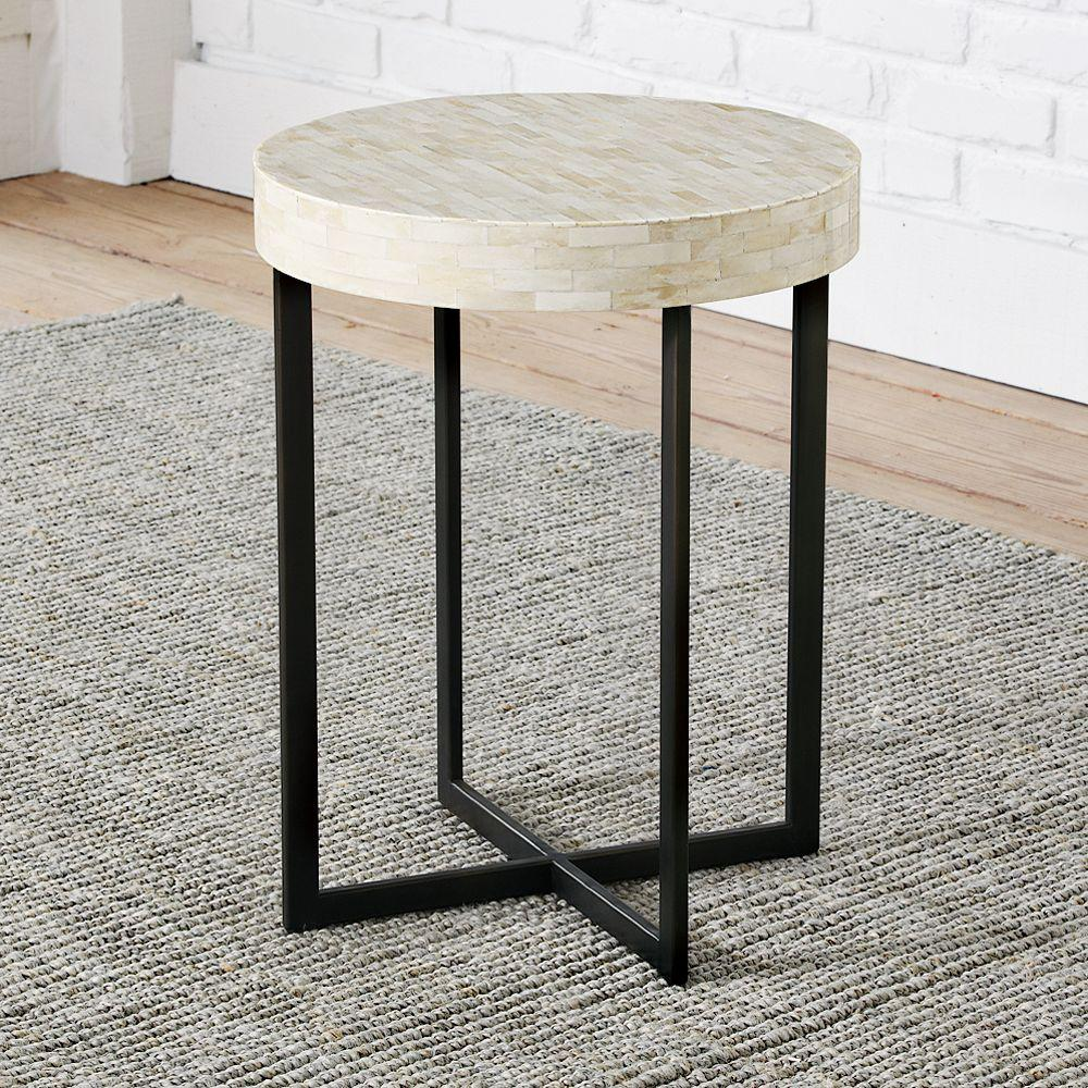 bone side table west elm uk. Black Bedroom Furniture Sets. Home Design Ideas