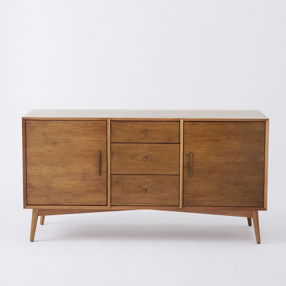 mid century sideboard large west elm uk. Black Bedroom Furniture Sets. Home Design Ideas