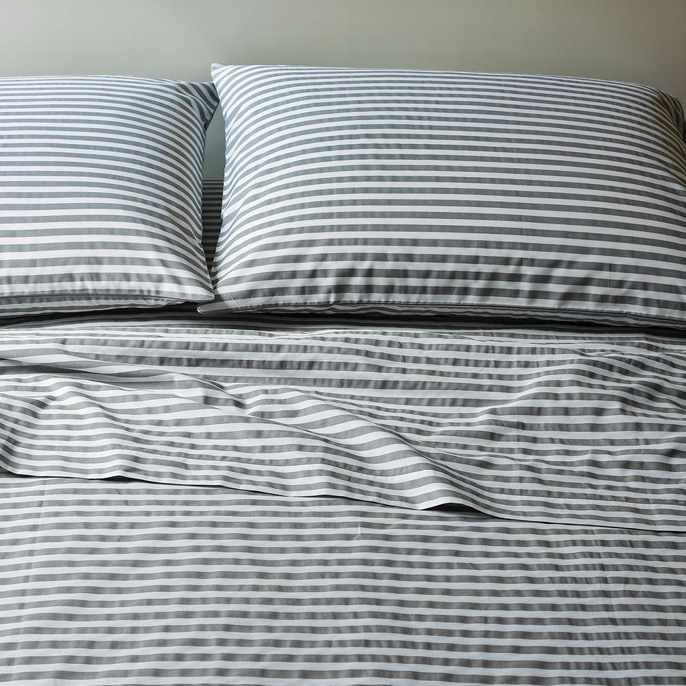 Stripe Bed Sheets: Pick the perfect bed sheets from our wide selection of patterns and colors.