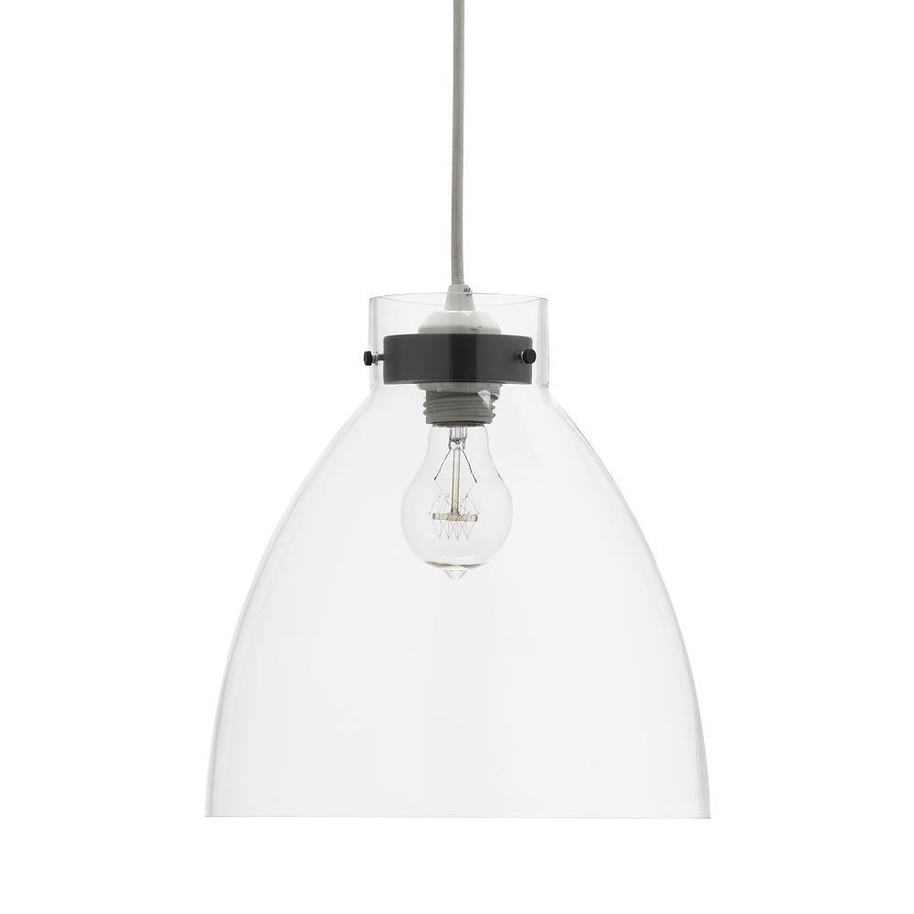 Industrial Pendant Light Glass
