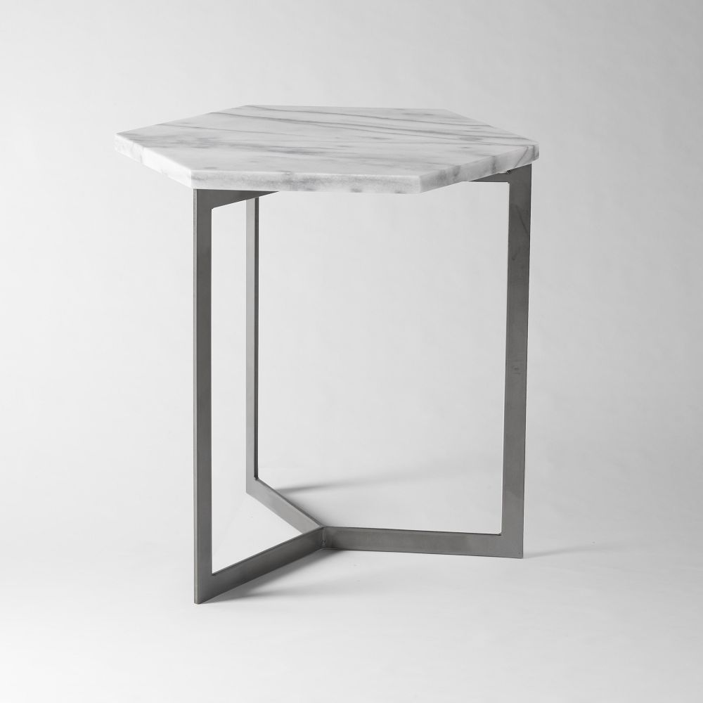 Hex Side Table West Elm UK
