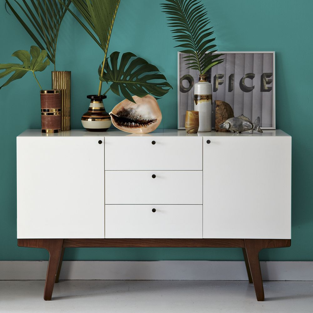 Modern Media Console 135 Cm West Elm Uk