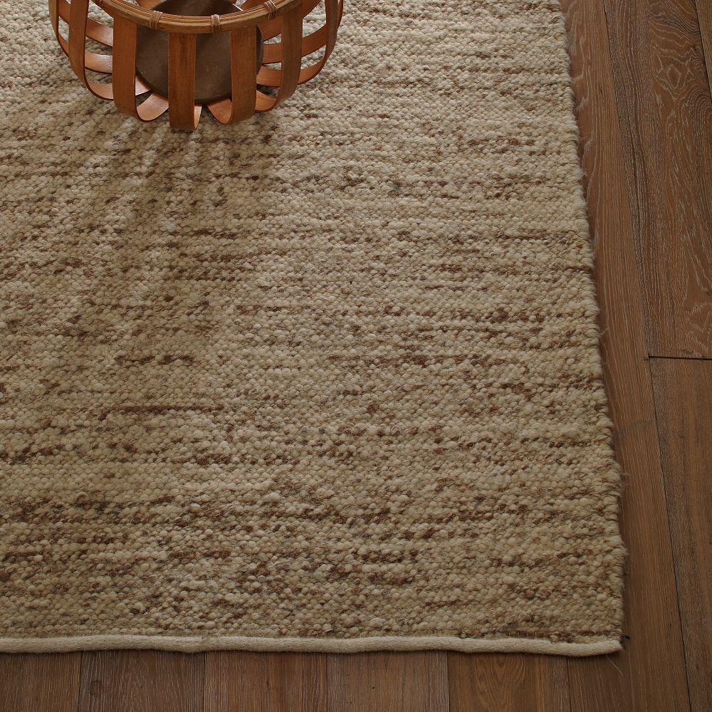 Sweater Wool Rug Oatmeal West Elm Uk
