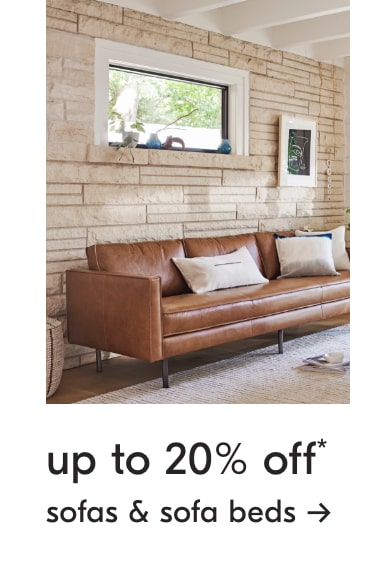 up to 20% off sofas