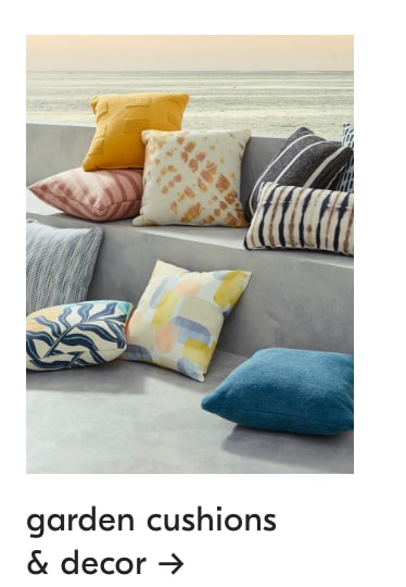 up to 40% off garden cushions