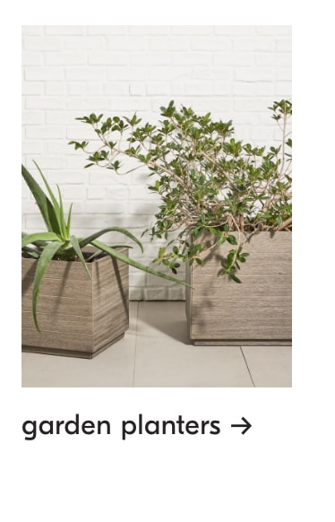 up to 40% off garden planters