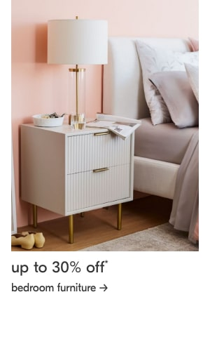 up to 30% off bedroom furniture