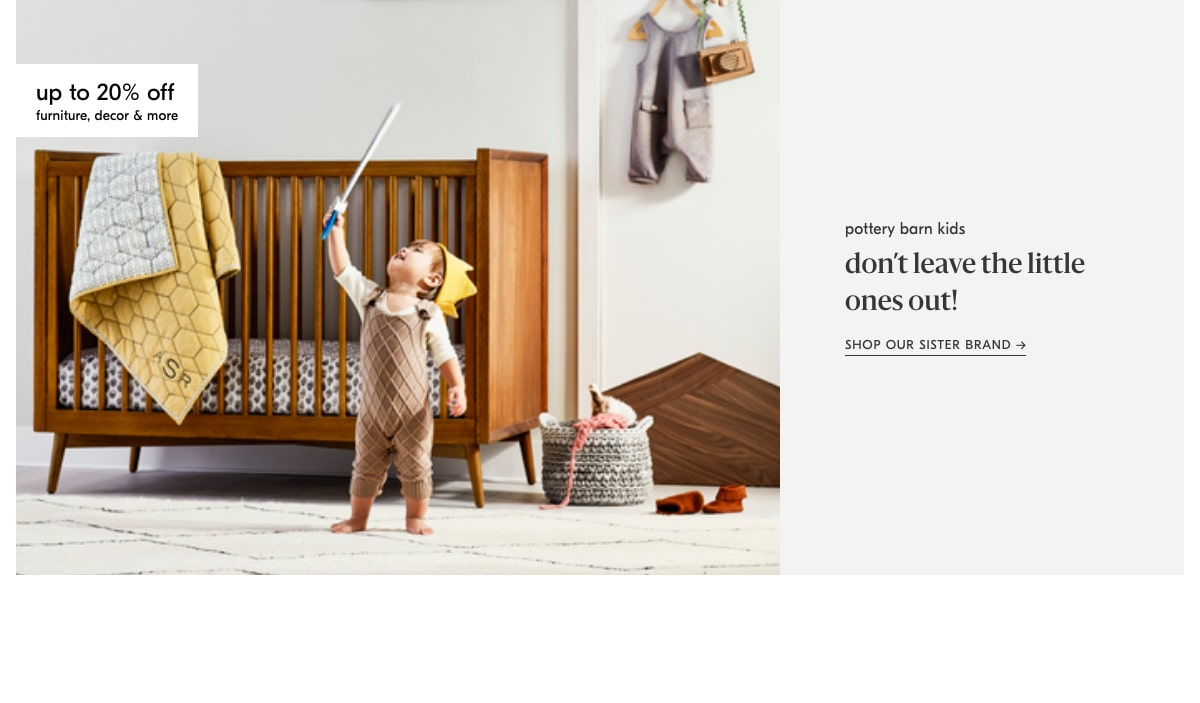 shop pottery barn kids