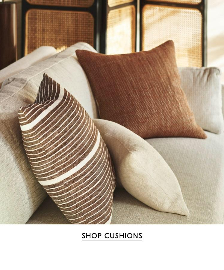 shop cushions & throws