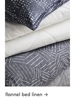 flannel bed linen