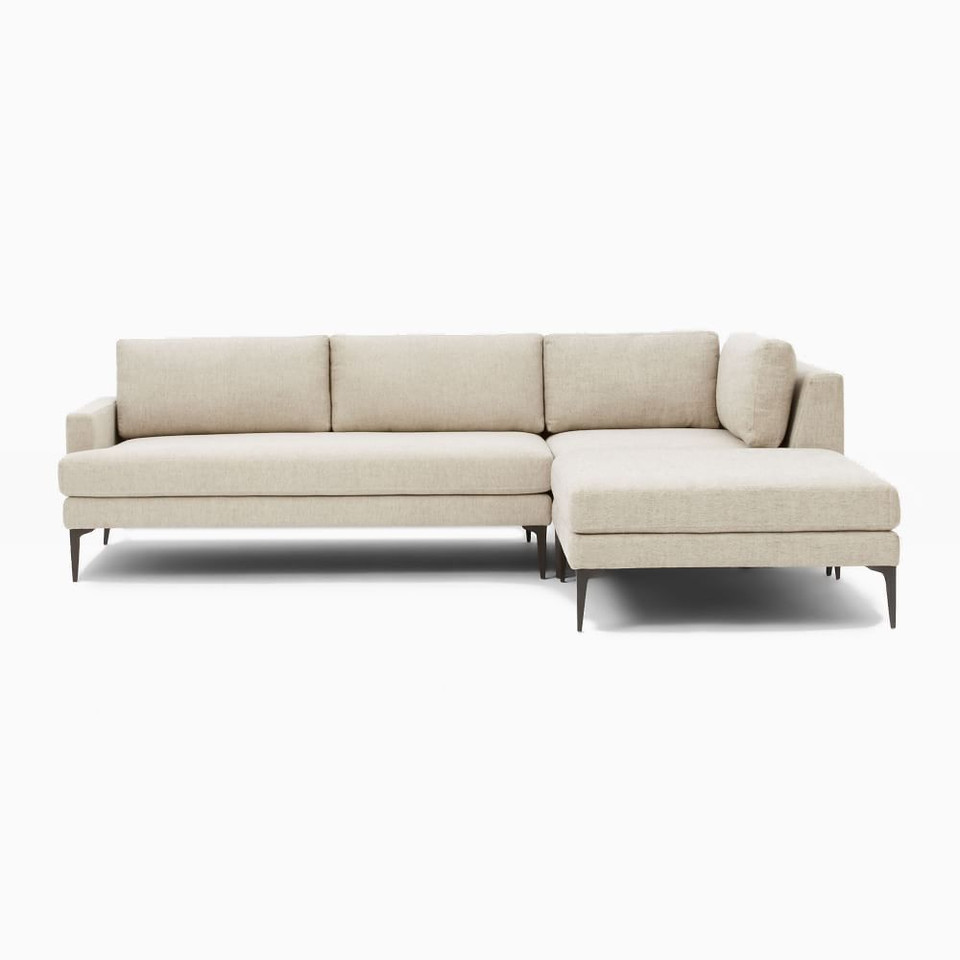 Andes 3-Piece Corner Chaise Sofa