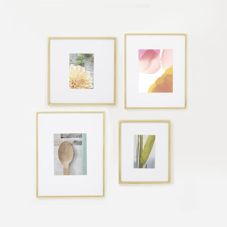 Assorted Size Gallery Frames (Set of 4)