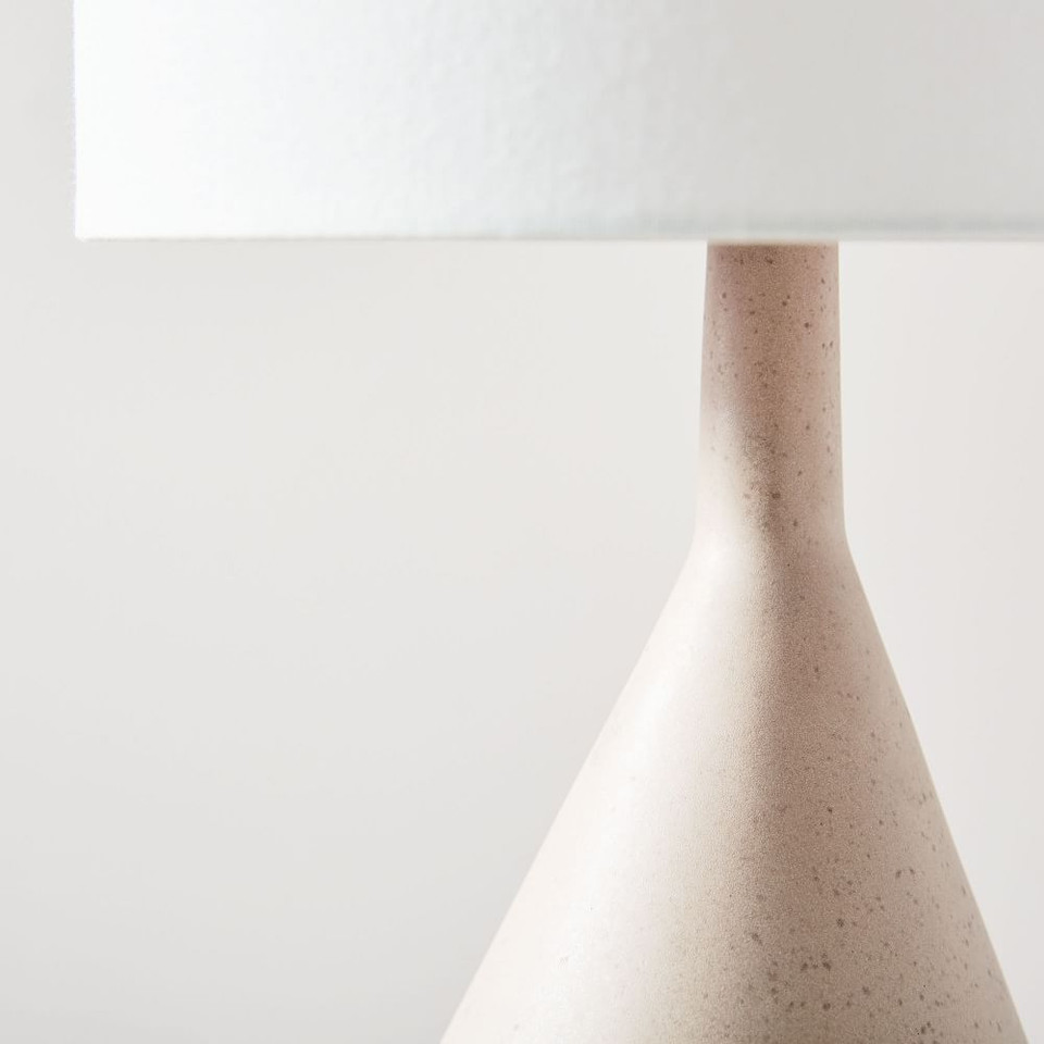 Asymmetry Ceramic Table Lamps - Large (77 cm)