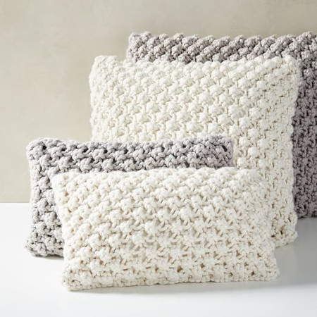 Bobble Knit Cushion Covers