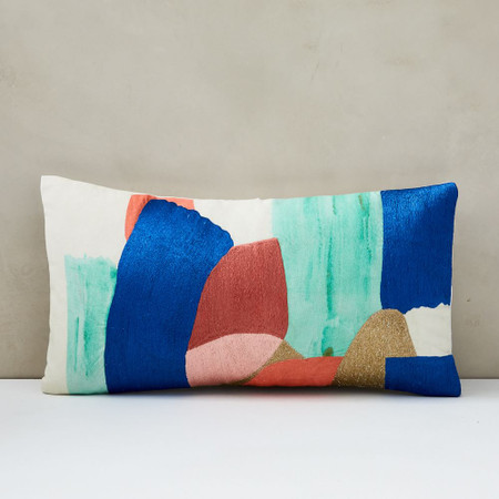 Bold Brushstrokes Cushion Cover