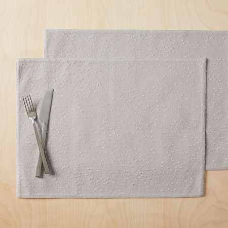 Celestial Placemats- Grey (Set of 2)