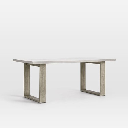 Concrete Garden Dining Table