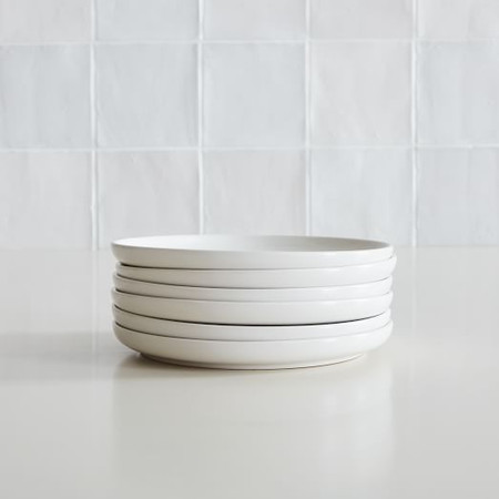 Coupe Stoneware Salad Plates (Set of 6)