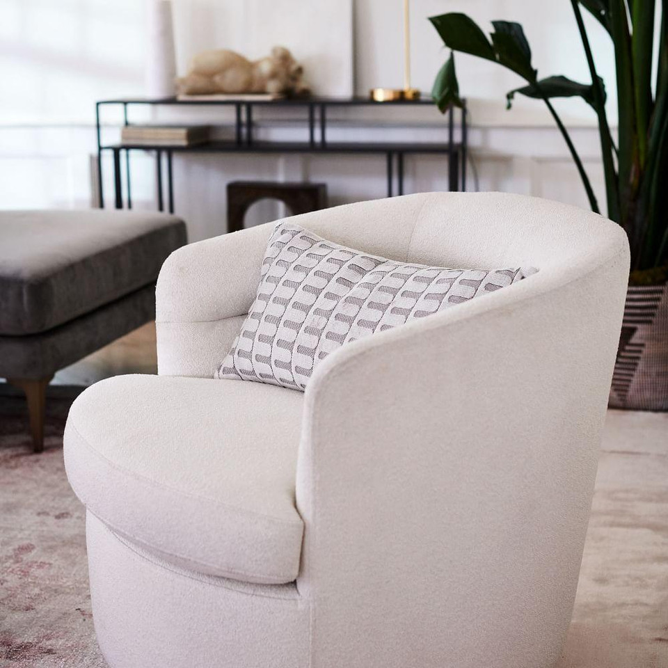 Cut Velvet Archways Lumbar Cushion Covers