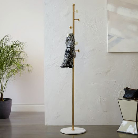 Deco Marble Coat Rack